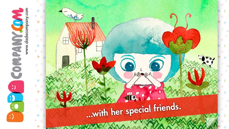 Marina and the Light - An interactive storybook without words for children