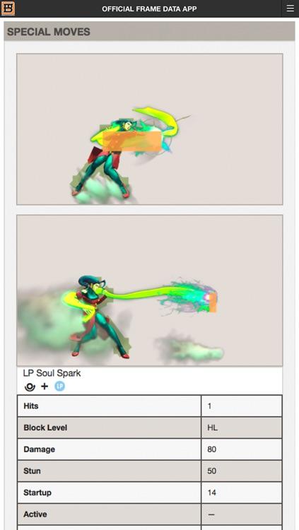 Ultra Street Fighter IV Official Frame Data App screenshot-3
