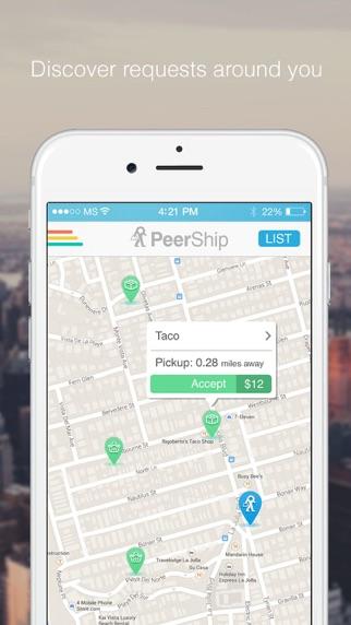 PeerShip screenshot one