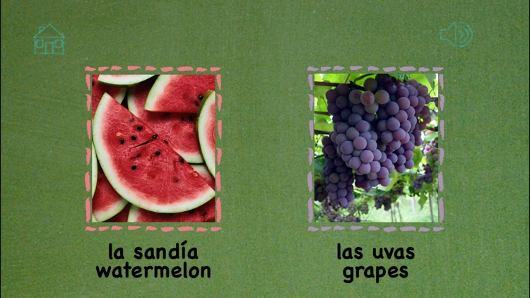 Spanish Playground Learning Games for Kids Fruit - Learn Spanish with Educational Games for Spanish Words