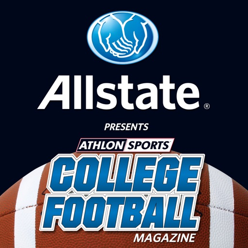 Allstate College Football Magazine