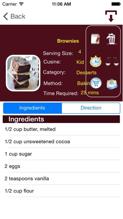 Cook Book (Recipe) screenshot-3