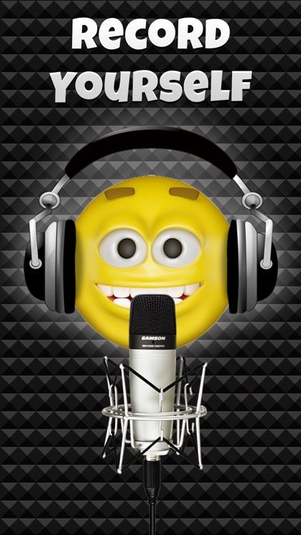 Talking Emoji Voice Changer Free - Crazy Helium Booth Fake Modifier Generator