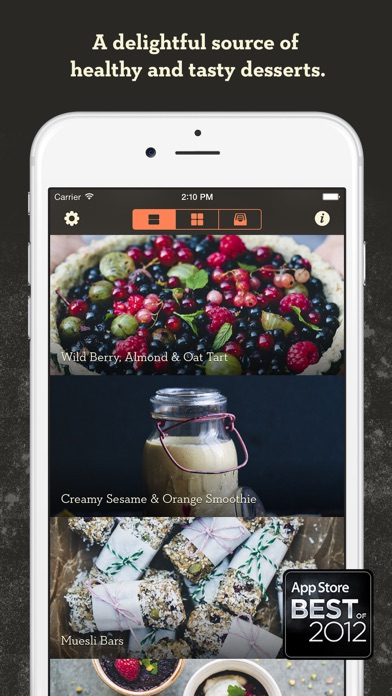 Screenshot for Healthy Desserts - by Green Kitchen in Lebanon App Store