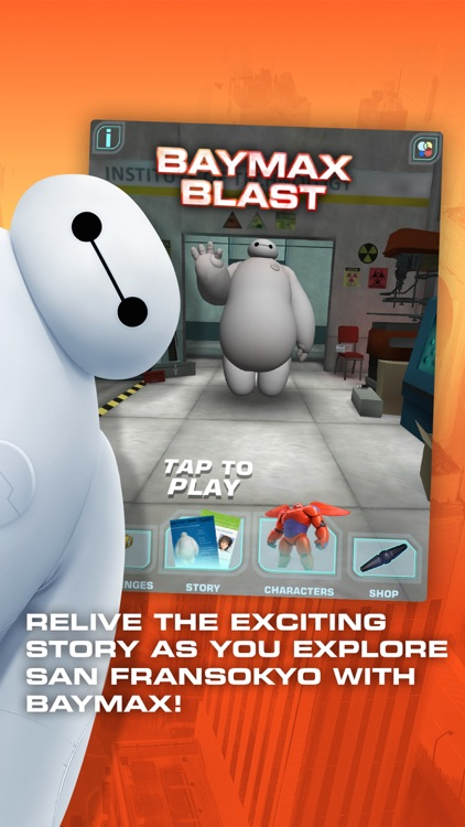 Big Hero 6: Baymax Blast screenshot-0