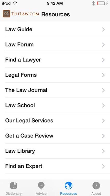 Law Dictionary & Guide screenshot-4