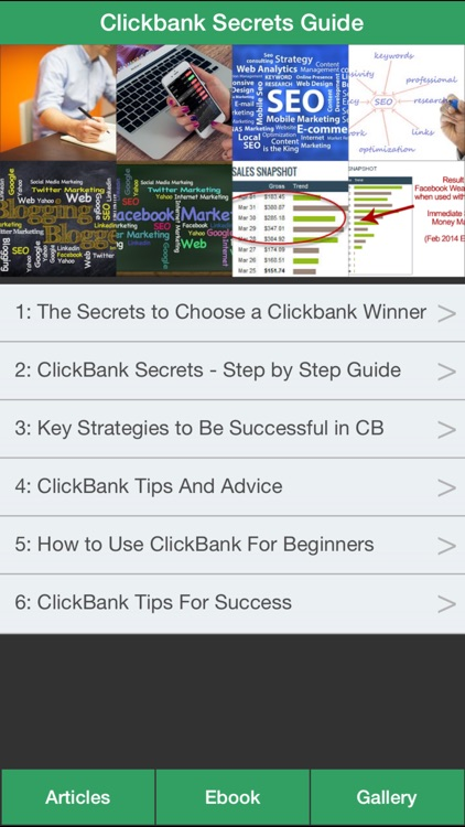 Clickbank Secrets Guide - How To Get More Traffic on Clickbank ! screenshot-0