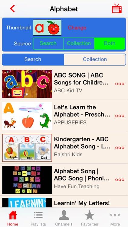 Kindergarten - Kids Learning Video Library
