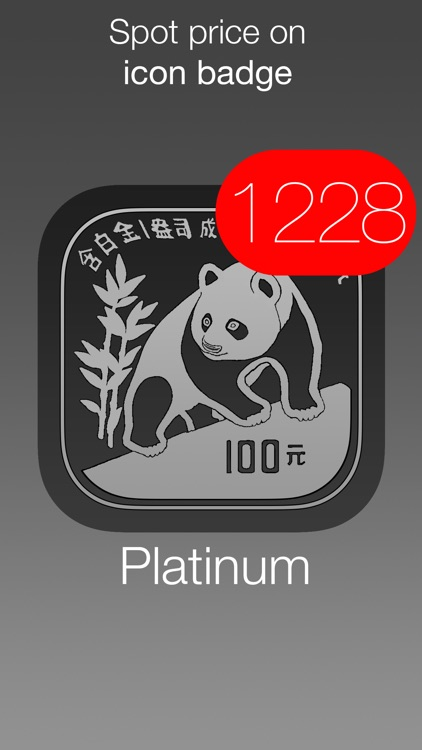 Platinum Price Watch - live spot price with widget, charts, push notifications and custom alerts screenshot-3