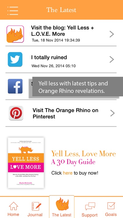 Orange Rhino Challenge screenshot-2