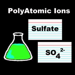 Polyatomic Ion Flash Cards