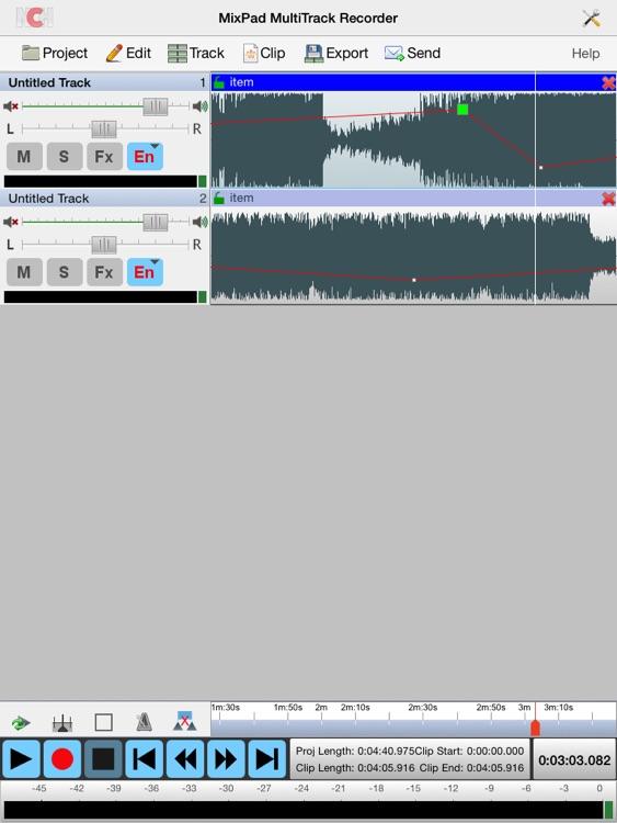MixPad Master's Edition