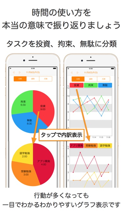 シンプルに時間管理 タイマーで集中して行動... screenshot1