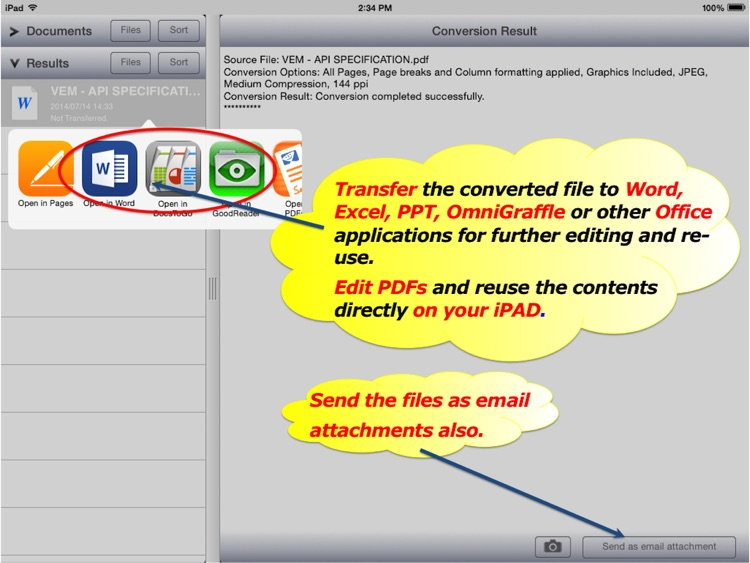 PDF2Office OCR - PDF to Word, Excel, PPT, Graffle