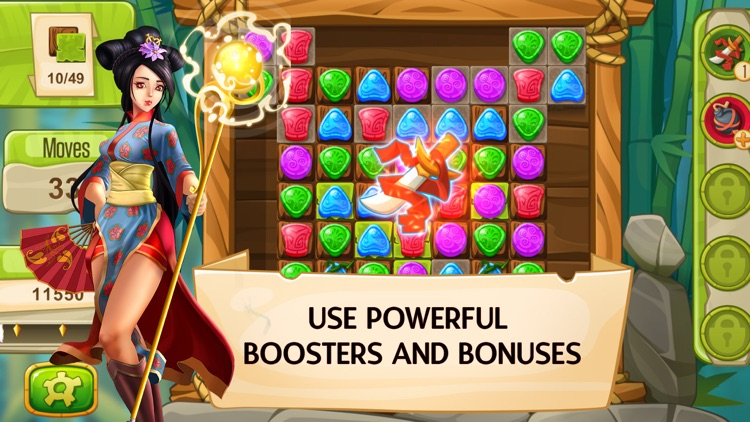 Gem Legends Free. Match 3 screenshot-3