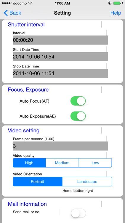 Super time-lapse shooting - Time watcher screenshot-3