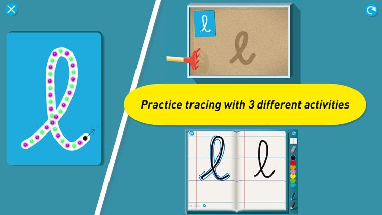 Montessori Letter Sounds - Phonics in English, Spanish, French, German & Italian screenshot-2