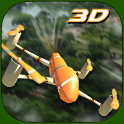 Rescue Drone Flight simulator 3D – Fly for emergency situation & secure people from fire