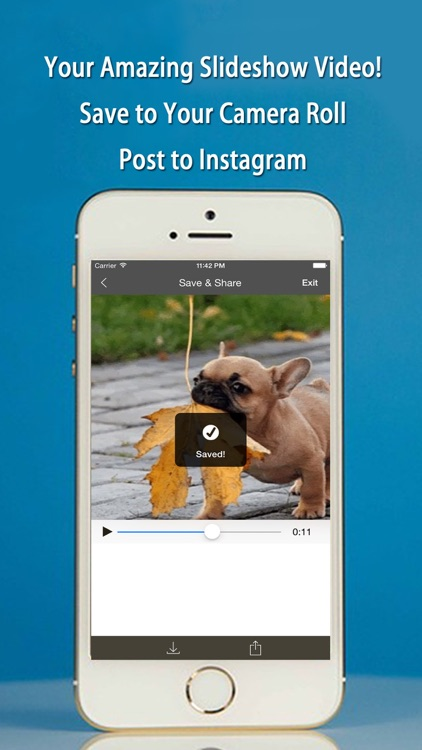 FlipPics - Video SlideShow Maker for Instagram with music screenshot-4