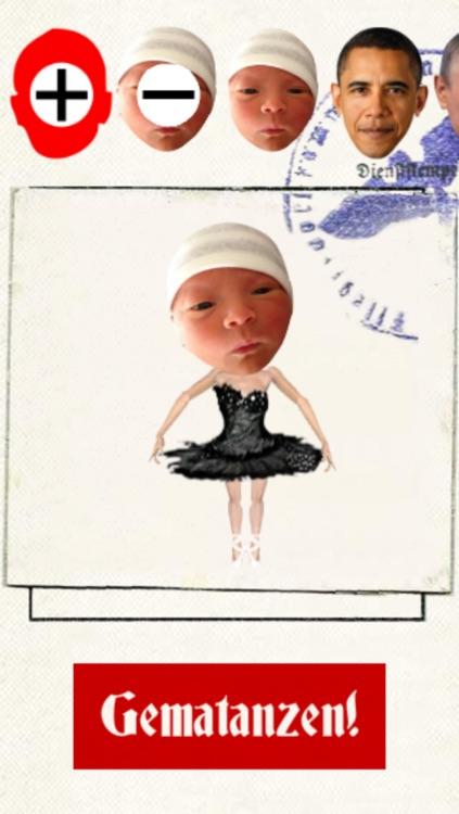 Gematanzen! - funny celebrity cartoon dance music video maker with your face screenshot-3