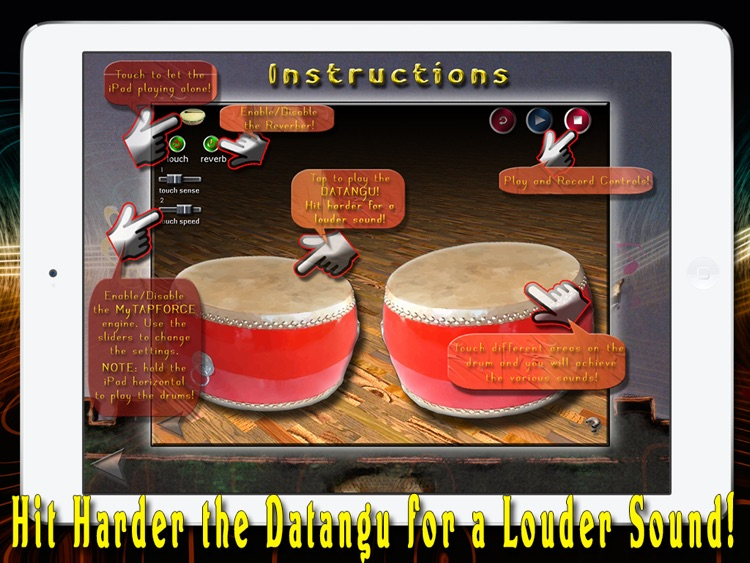 i Play My Chinese Drums - HD screenshot-3