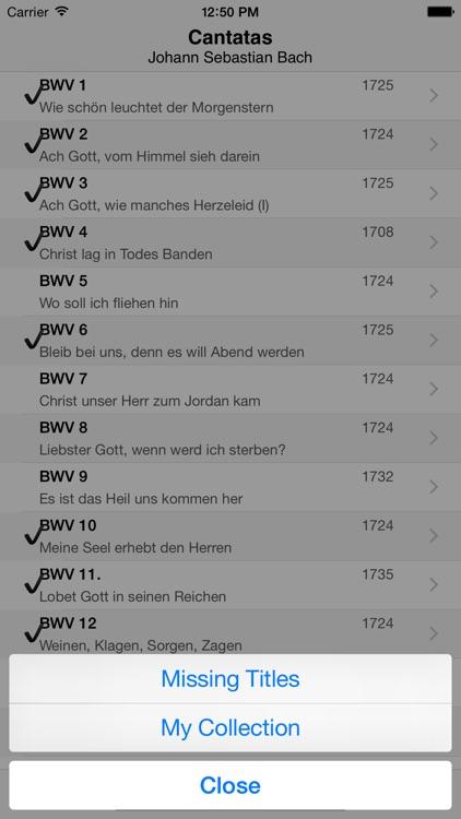 Bach Cantatas screenshot-4