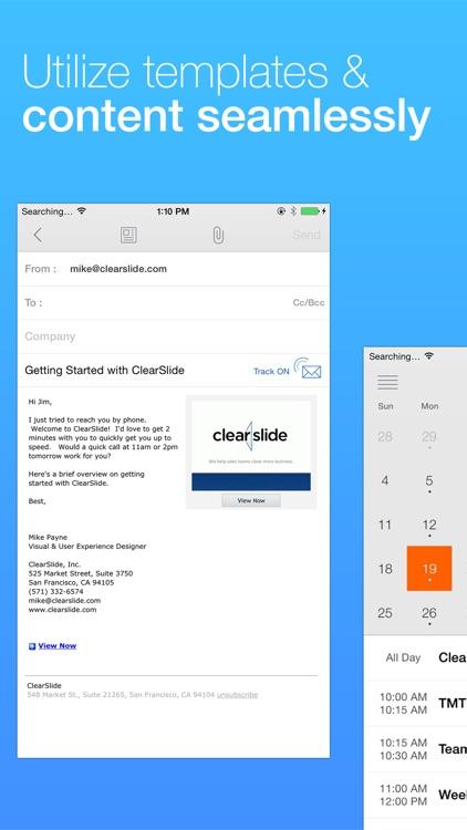 ClearSlide Mail screenshot-4