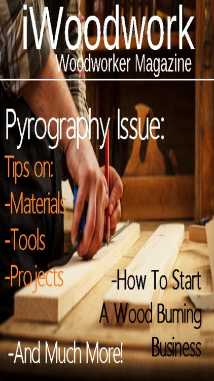iWoodwork: Woodworking Magazine screenshot-0