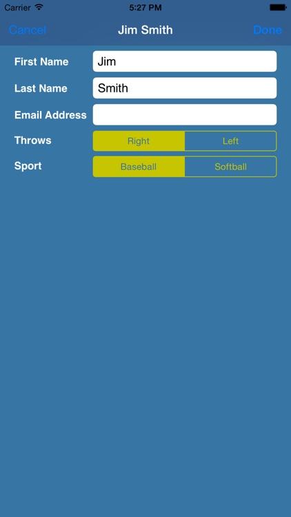 EDGEbullpen – Chart a pitcher's practices screenshot-4