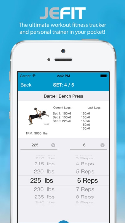 JEFIT PRO Workout - Fitness & Exercise Tracking System screenshot-0