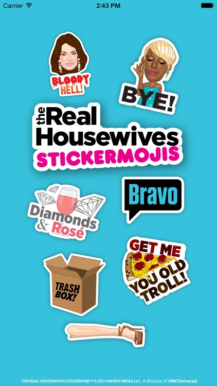 The Real Housewives Stickermojis screenshot-4