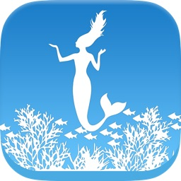 Underwater Coloring Book for Kids: Color and Draw a Mermaid, Sea Horse, Turtle and more