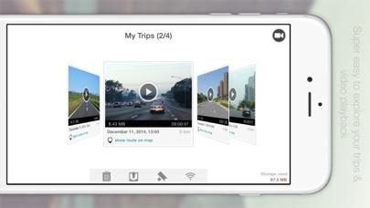 Автомобильный видеорегистраторСкриншоты 2