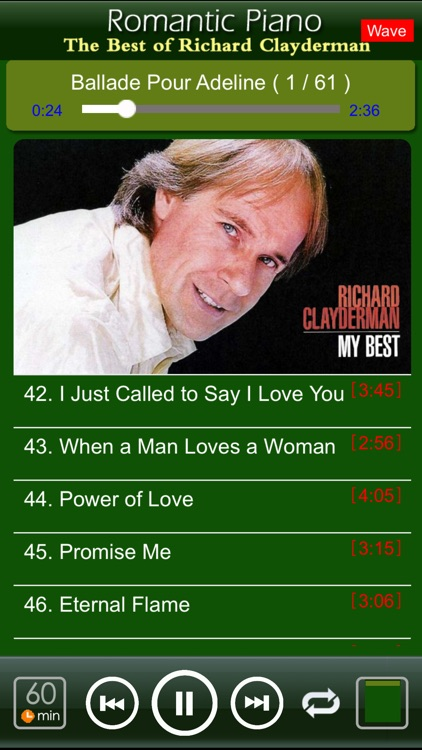 Romantic Piano[Richard Clayderman] screenshot-1