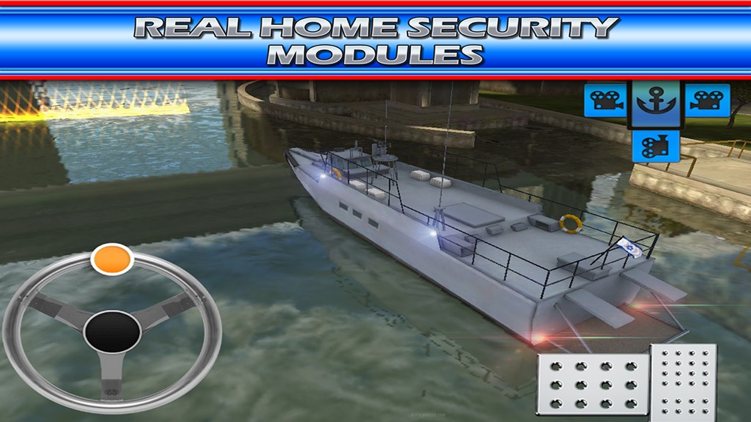 Boat Game Police & Navy Ship 3D Emergency Parking - Online