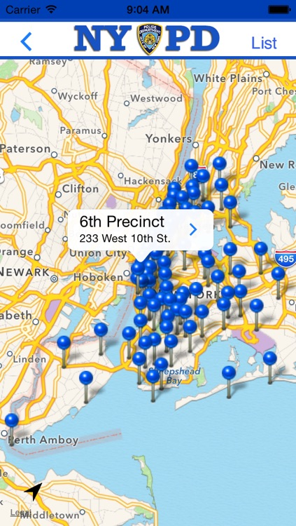 NYPD Precincts screenshot-1