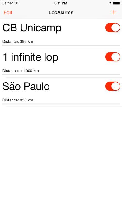 Alarm Location screenshot 1