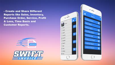Swift Invoice Freeのスクリーンショット3
