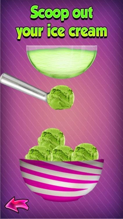 Ice Cream Sundae Maker Party - Make DIY Frozen Icecream Cups & Cones : Cooking Games for Kids screenshot-3