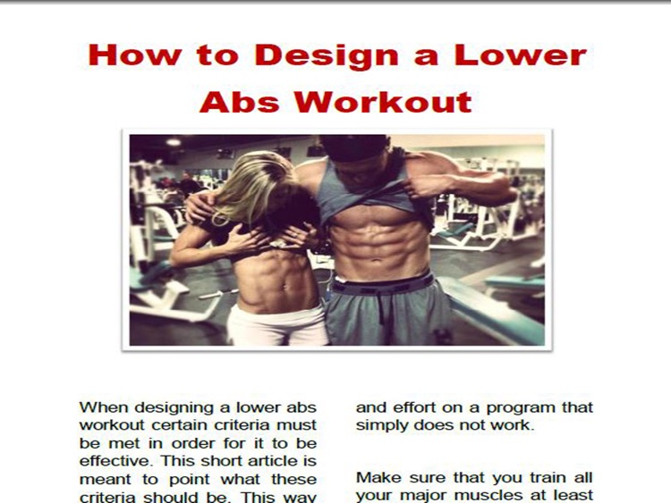 Ab Workouts For Men & Woman Magazine