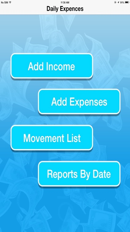 Daily Expenses Manager