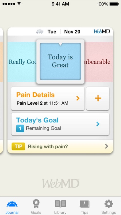 WebMD Pain Coach screenshot-0
