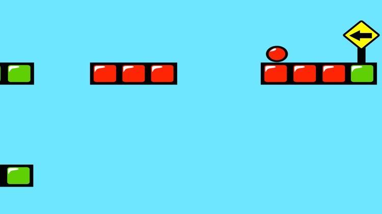 Red Bouncing Ball Spikes Free screenshot-2