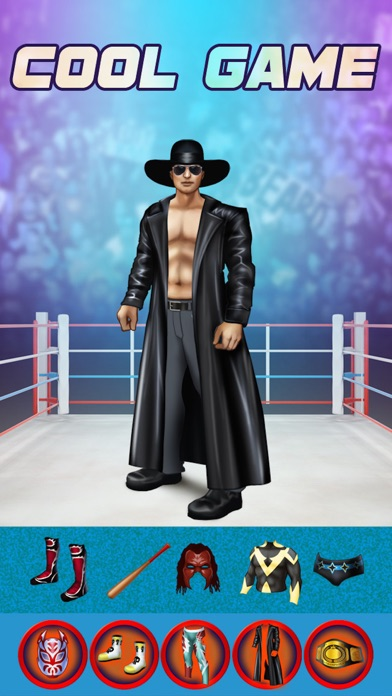 My World Champion Crazy Power Wrestlers Dress Up Club Game - Free App screenshot two
