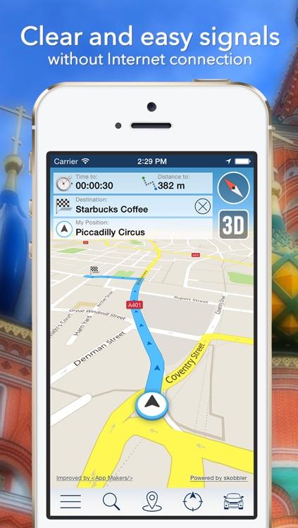 Bangkok Offline Map + City Guide Navigator, Attractions and Transports screenshot-3
