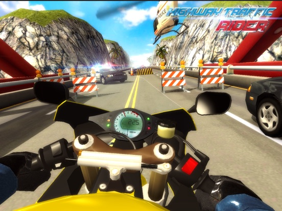 Скачать Highway Traffic Rider 3D