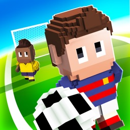 Blocky Soccer - Endless Arcade Runner