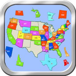 United States Puzzle Map