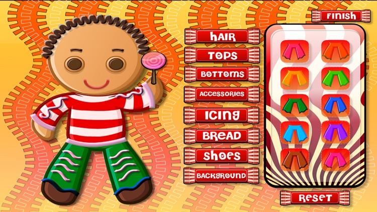 Design Your Own Gingerbread Man - Dressup Game screenshot-3