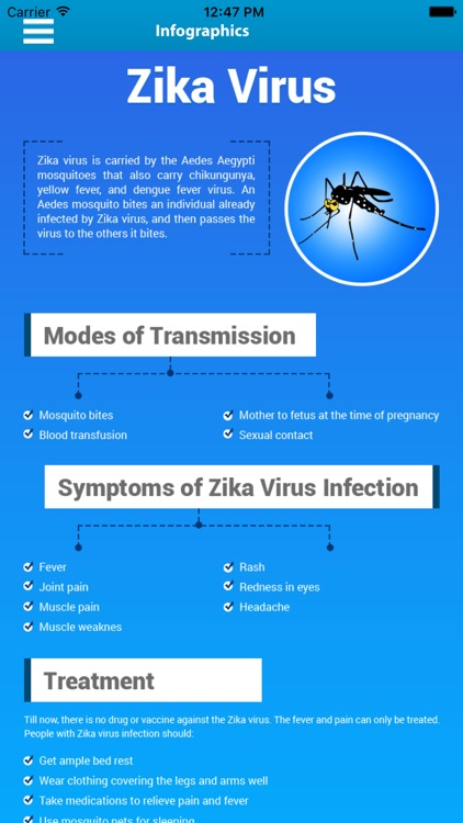 Zika Virus Info and News screenshot-4